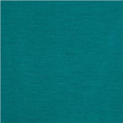 Stretch Rayon Poly Jersey Knit Deep Sea Green