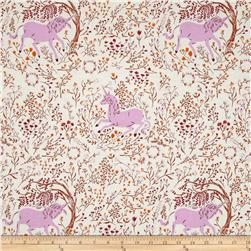 Heather Ross Far Far Away Unicorn Lavender