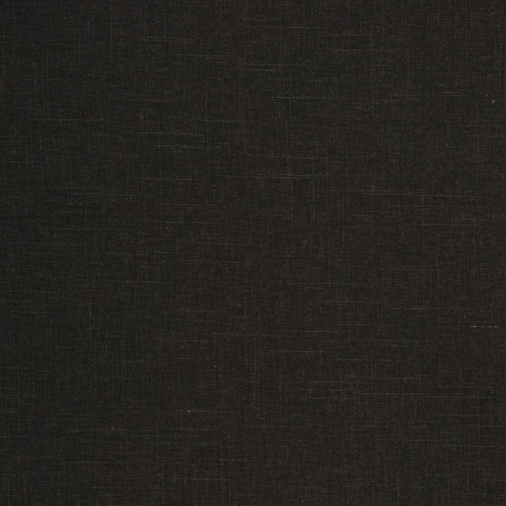 Jaclyn Smith Linen/Rayon Blend Black