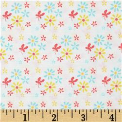 Riley Blake Butterfly Dance Flowers Multi Fabric