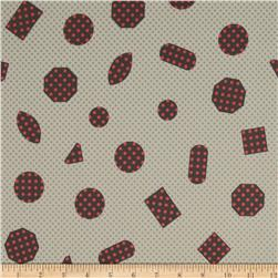 Cotton & Steel Cookie Book Non-Pareils Lawn Cream
