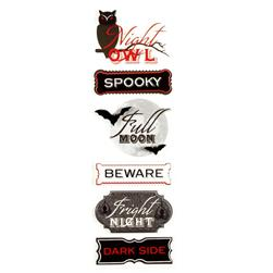 Martha Stewart Crafts Stickers Vampire Phrase