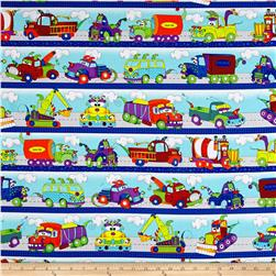 Monster Trucks Road Runner Stripe Blue