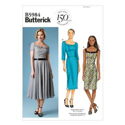 Butterick Misses' Dress Pattern B5984 Size B50