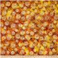 Timeless Treasures Tonga Batik Copper Make A Wish Autumn