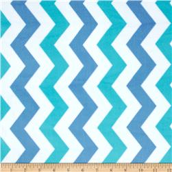 Michael Miller It's A Boy Thing Cozy Shimmy Shake Chevron Boy