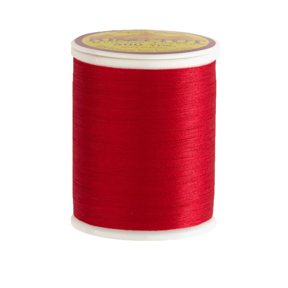 Superior King Tut Cotton Quilting Thread 3-ply 40wt 500yds St. Nick