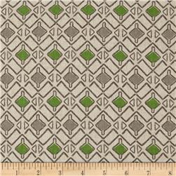 Premier Prints Hira Laken Green