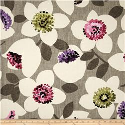 Contempo Cachet Large Floral Pink/Taupe