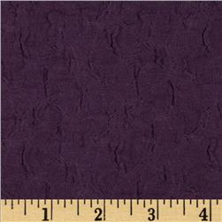 Novelty Smocked Woven Purple