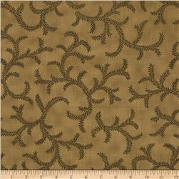 Moda Collections for a Cause Mill Book 1892 Ombre Vines Olive