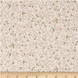 Lecien Kate Greenaway Coordinates Mini Floral Tan