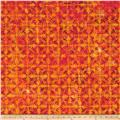 Kaufman Artisan Batiks Optical Illusion Geo Trellis Bright