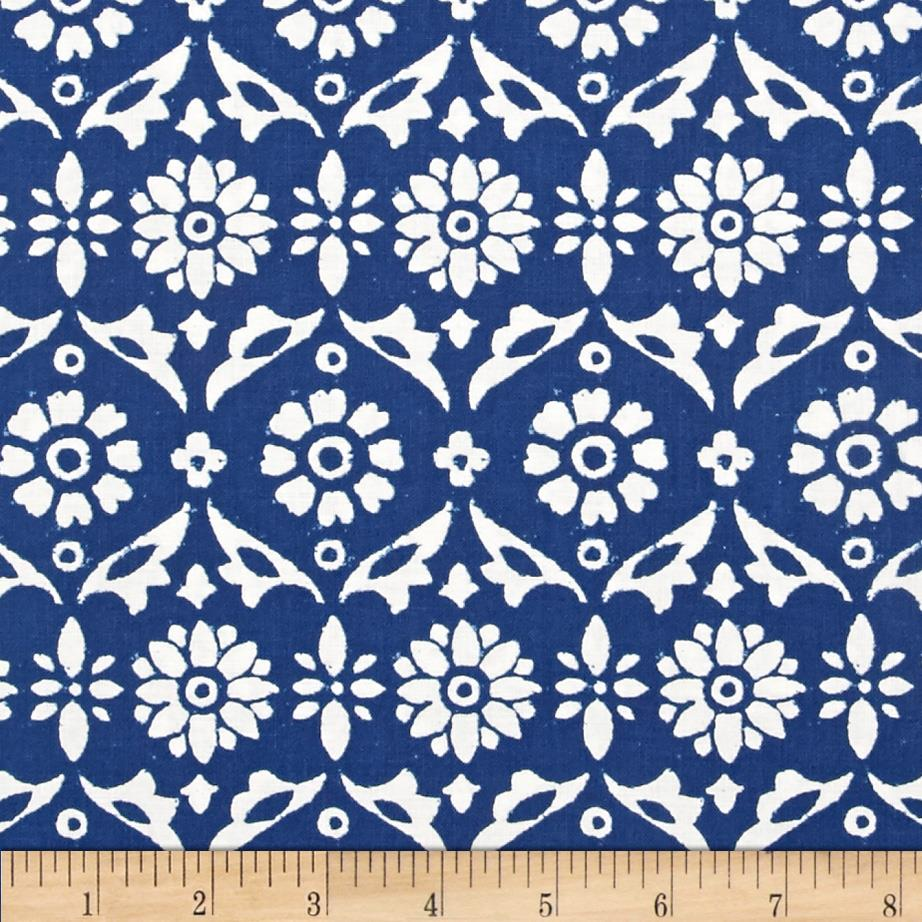 Ravena Deco Flower Navy