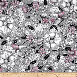 Madison Contempo Floral Pink/Black