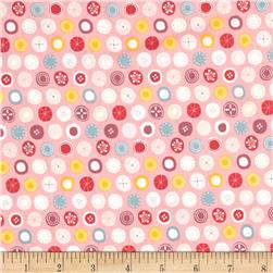 Tiny World Patterned Dots Pink