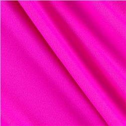 Tricot Solid Neon Pink