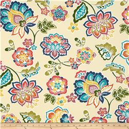 Tempo Indoor/Outdoor Fun Floral Natural/ Multi Fabric