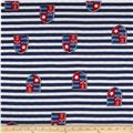 Sailor Jersey Knit Stripes Blue/Red