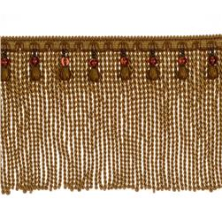 "Fabricut 9"" Mountain Resort Bullion Fringe Copper"