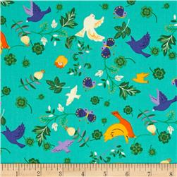 Seven Islands Birds & Butterflies Teal