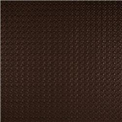 Luxury Faux Leather Rattan Bronze