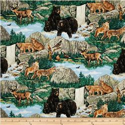 Forest Animals Landscape Multi