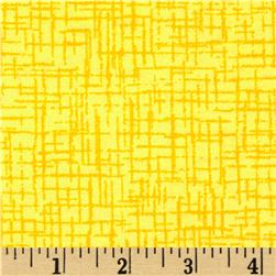 110 In. Wide Quilt Back Betula Flannel Yellow