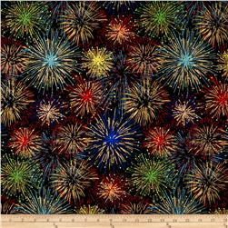 It's My Party Metallic Fireworks Rainbow Gold