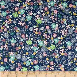 Riley Blake Daisy Days Secret Garden Navy