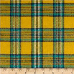 Windstar Flannel Plaid Yellow