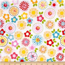 Riley Blake Fresh Market Large Floral White
