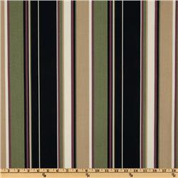 Richloom Indoor/Outdoor Covestripe Noir Home Decor Fabric