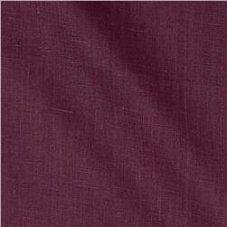 European 100% Linen Beets Purple
