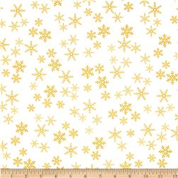 Rudolph 50 Years Snowflakes Yellow