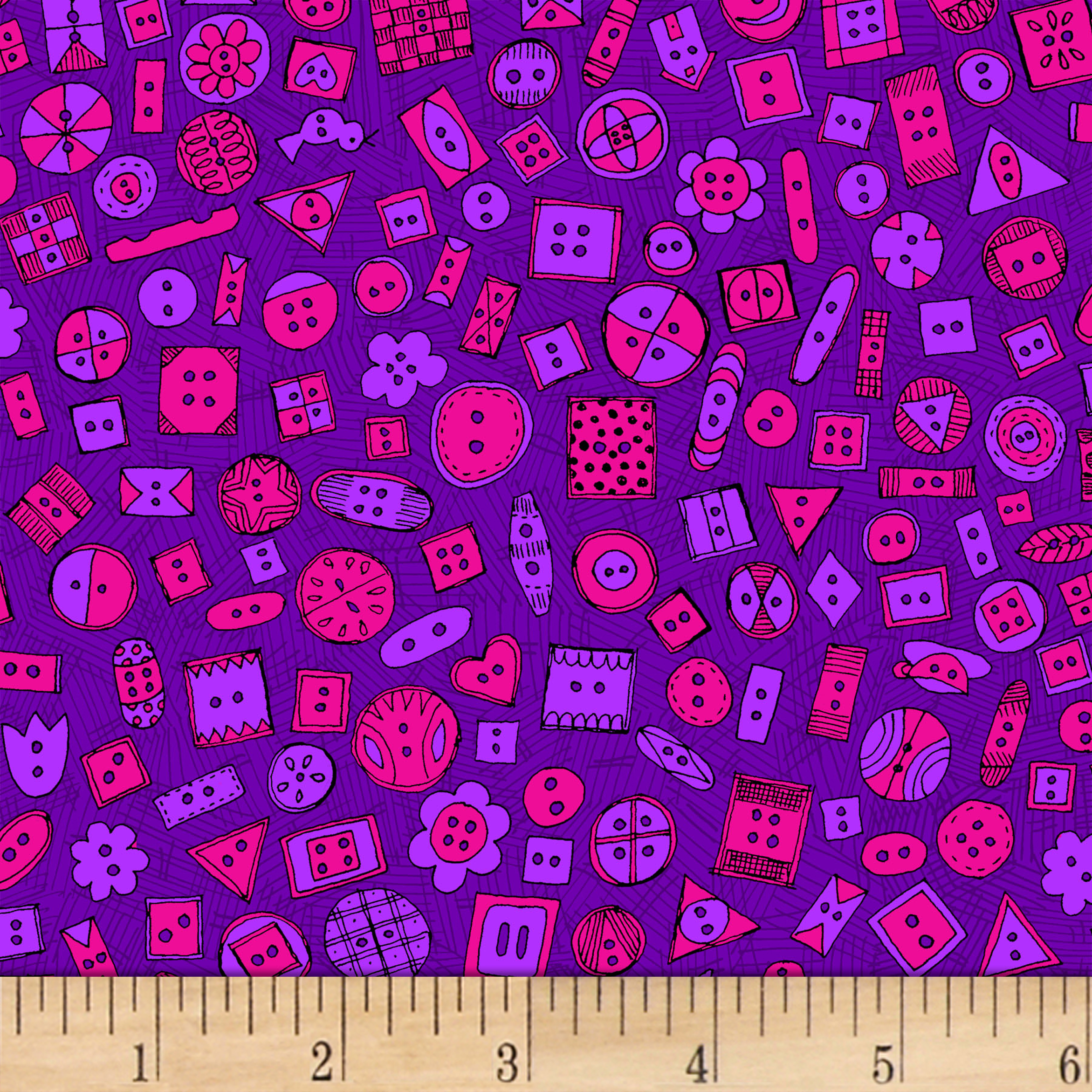 INOpets.com Anything for Pets Parents & Their Pets Sewing 101 Button Up Purple Fabric