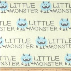 Little Monsters Fleece White