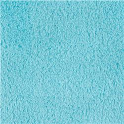Double-Sided Minky Fleece Turquoise
