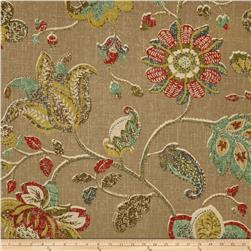 Robert Allen Spring Mix Linen Blend Pomegranate