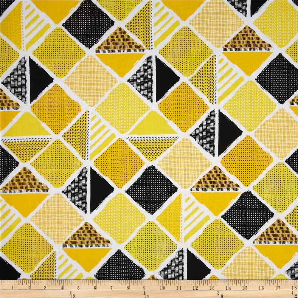 Kanvas What a Whirl II Diamond Patch Black/Yellow