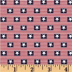 Made in the USA Stars & Stripes Red