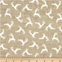 Scandi 4 Deer Scatter Darkk Cream