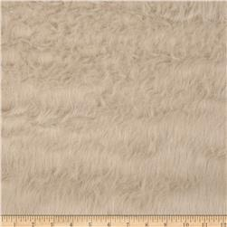 Faux Fur Fuzzy Hair Beige