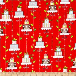 Tinsel Toes Christmas Cakes Red