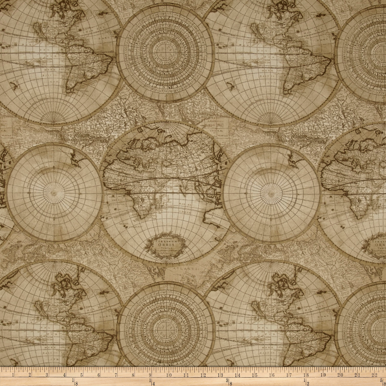 Waverly Non Stop Sandstone Fabric by Waverly in USA