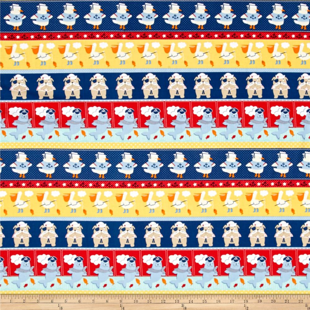 Ahoy Matey Novelty Stripe Multi