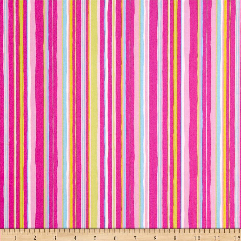 Tiddlywinks Stripe Pink