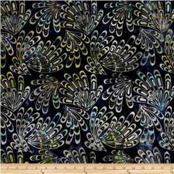 Tonga Batik Lemon Poppy Wing Majesty
