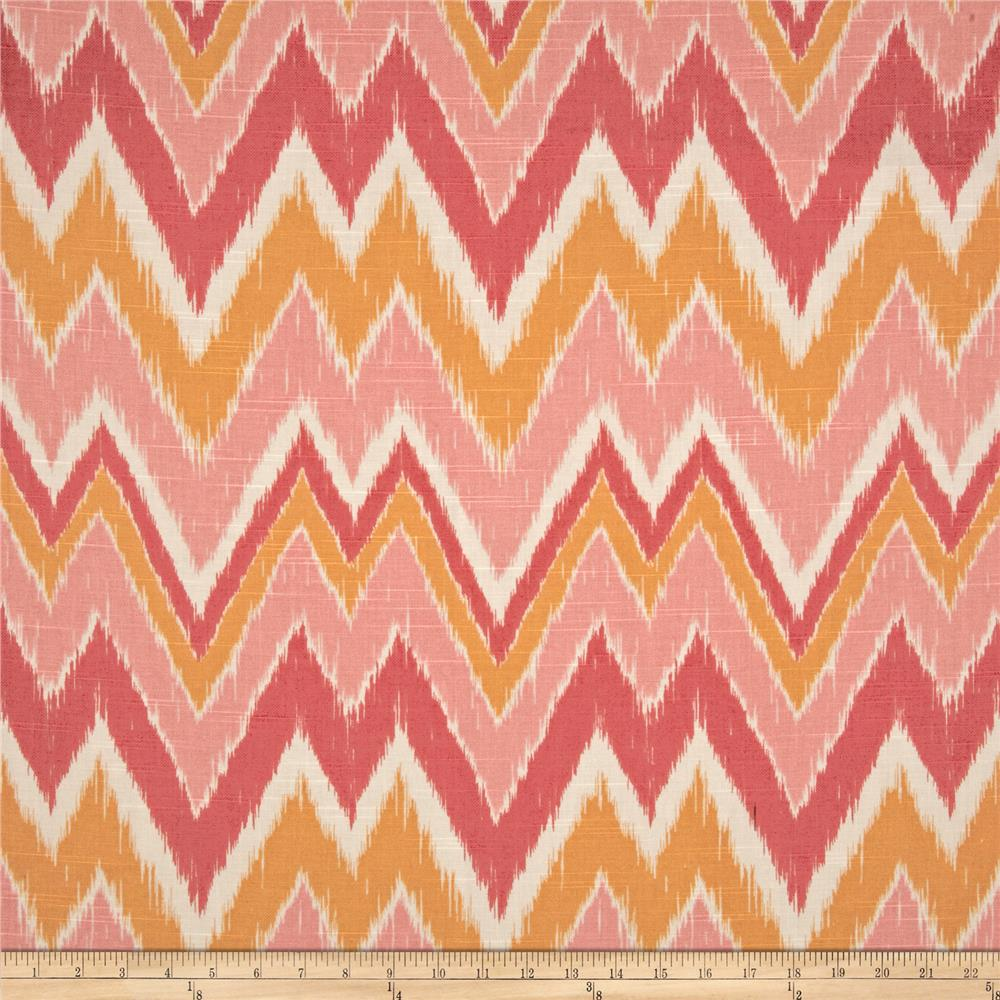 Duralee Home Mell Chevron Melon