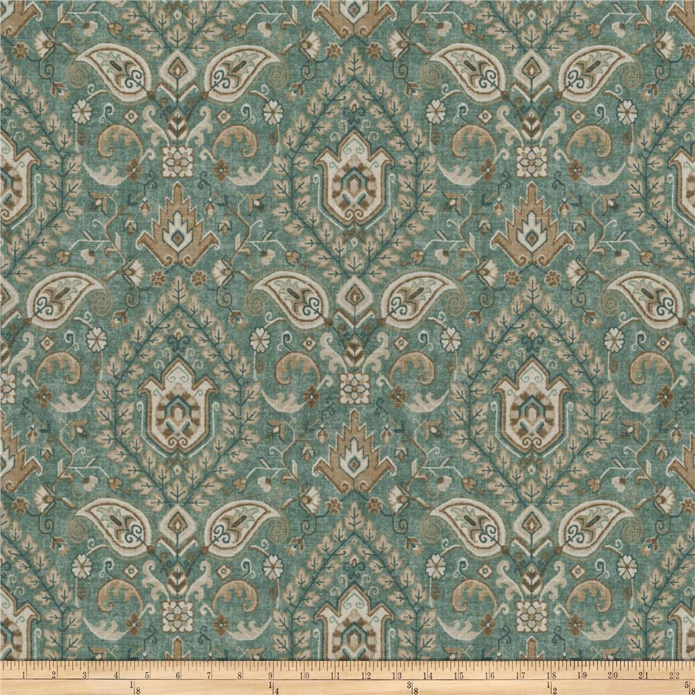 Fabricut Borodinsky Sea Green